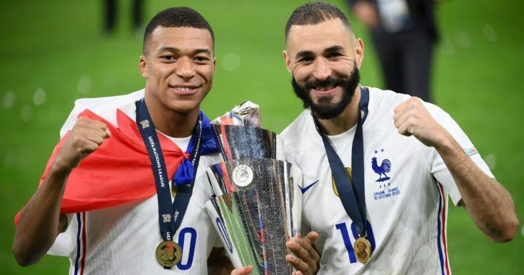 Deschamps 'improved' Benzema's maturity after helping France to Nations League triumph